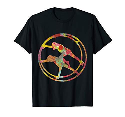 Schönes Partner Rhönrad Turnen Geschenk für Rhönradturner/in T-Shirt