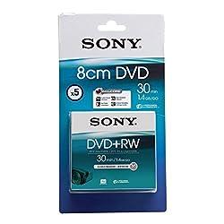 Sony 5 Pack 8cm Dvd+rw 30 Min - Blister