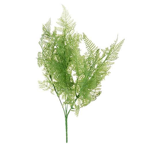 Homyl Künstliche Moos Gras Pflanzen Bouquet Kunstpflanzen Kunstblumen