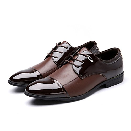 Men's Fashion Retro Style Lace Up Casual Shoes brown