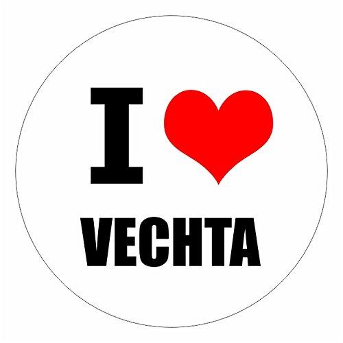 I love Vechta Münster in 2 Größen erhältlich Aufkleber mehrfarbig Sticker Decal
