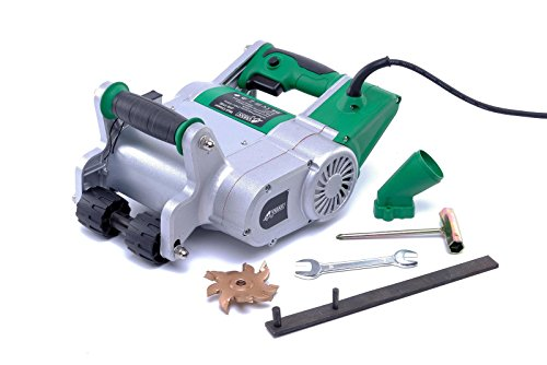 Varan Motors JHS-1100 Scanalatore a fresa - fresa 1100 W 1600 giri al minuto, larghezza 25 mm