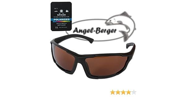 Angel Berger High UV Polarisationsbrille verschiedene Modelle (Deep Black)