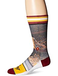 Stance Men's NBA King James Cavs Crew Socks Yellow