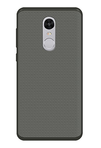 Redmi Note 4 Cover, Back Cover, Back case, Plain Grey Cover, Soft Cover BY CareFone