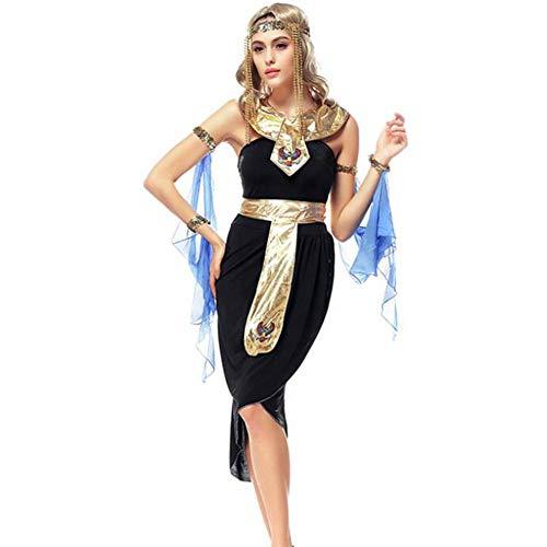ASDF Halloween Kostüm Arabische Göttin Kostüm Latin Dance Tänzer Kostüm Ägyptisches Kostüm (Arabische Kostüm Name)