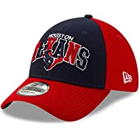 New Era 39thirty Houston Texans - Gorra para Hombre, Unzutreffend, Evergreen, 39Thirty Houston Texans - Gorra, Hombre, Color Rojo, tamaño S-M