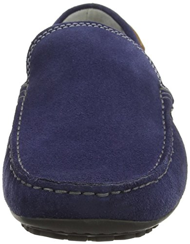Sioux - Cabir, Mocassini Uomo Blu (Blau (marine/castagna))