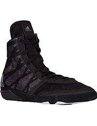 huge discount c6f8d e52c3 Adidas Pretereo III Wrestling Shoes - BlackSilverWhite - 9.5