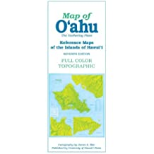 Reference Maps of the Islands of Hawaii: Map of O'ahu : The Gathering Place