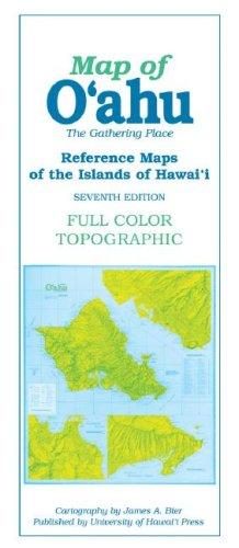 Reference Maps of the Islands of Hawaii: Map of O