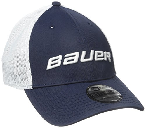 Bauer Herren 39THIRTY Mesh Back Cap, Herren, Navy, Medium/Large Front-mesh Back Cap