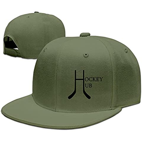 HNN Men's Hockey Hub Flat Baseball Cap