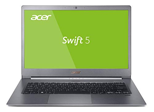 Acer Swift 5 SF514-53T-573Y 35,6 cm (14 Zoll Full-HD IPS Multi-Touch) Ultrabook (Intel Core i5-8265U, 8GB RAM, 256GB PCIe SSD, Intel UHD, Win 10) silber