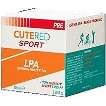 Cutered Sport Crema LPA • Lenitiva, Protettiva Anti Sfregamento • Ossido Di Zinco, Calendula, Olio Di Cocco, Olio Di Mandorle
