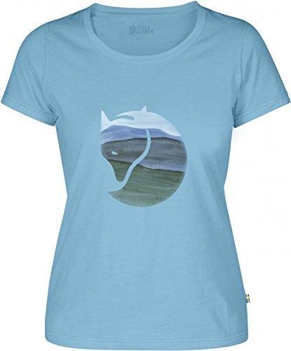 Fjällräven water colour Fox T-shirt da donna