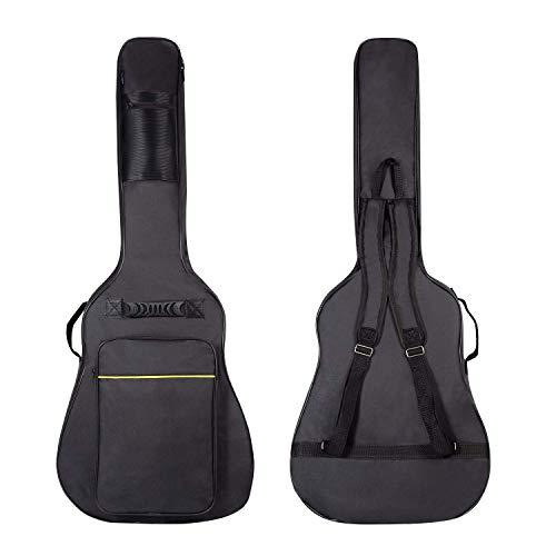 CAHAYA Funda Guitarra Universal Acolchada 2 bolsillos