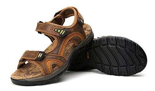 Hishoes, Sandali sportivi uomo Light Brown