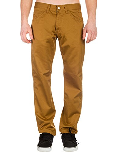 CARHARTT WIP - Jean - Homme - Chino Tapered Fit Skill Cortez Camel pour homme hamilton brown rinsed/marron