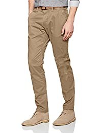 Tom Tailor Travis Casual Chino W/ Belt, Pantalon Homme