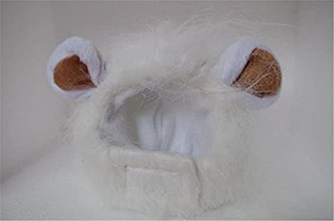 Uni Meilleur Pet Costume Lion Mane Perruque pour chien chat Halloween Dress Up avec oreilles