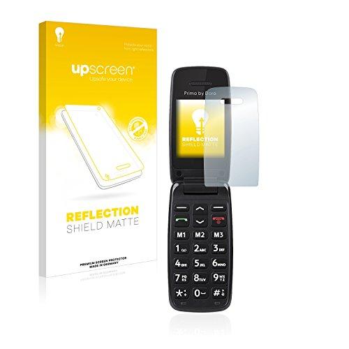 upscreen Matt Schutzfolie für Doro Primo 401 – Entspiegelt, Anti-Reflex, Anti-Fingerprint