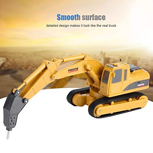 RC Auto kaufen Kettenfahrzeug Bild 3: Fernbedienung Bagger, Fernbedienung Bagger Truck Mini Digger RC Engineering Auto Baufahrzeug Spielzeug Geschenk für Kinder( 2 #)*
