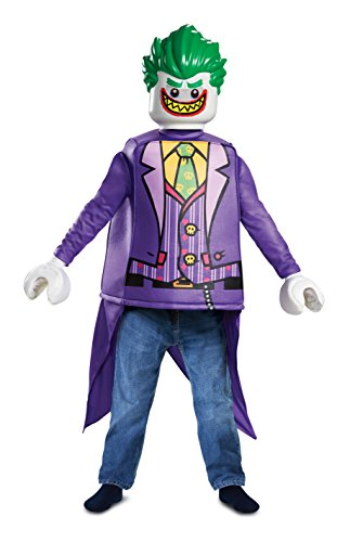 Kind Joker Kleines Kostüm - LEGO DISK66271L Kostüm, Jungen, Joker, Klein