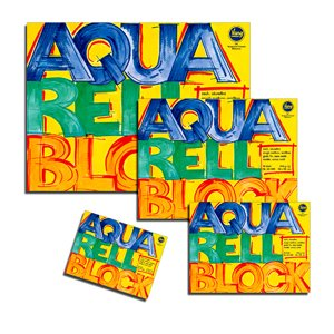 Vang Aquarellblock, 10 Blatt, 250g rauh, 30 x 40 cm