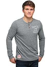 Junk Food Kansas City Chiefs Huddle Henley Long Sleeve Shirt