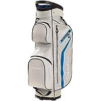 Mochila de golf unisex de Calvin Klein, divisor de 14 compartimentos, color Silver-Royal, tamaño talla única