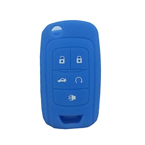 ezzy-auto-new-sky-blue-5-buttons-silicone-cover-holder-key-jacket-fit-for-chevrolet-camaro-cruze-vol