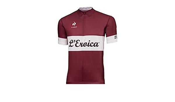 8f9deccd39e7 Le Coq Sportif Eroica Performance Jersey -  Amazon.co.uk  Sports   Outdoors