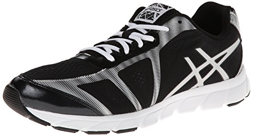Asics, Scarpe da corsa uomo Black/Lightning/White