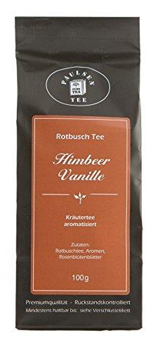 Paulsen-Tee-Rotbuschtee-Himbeer-Vanille-100g