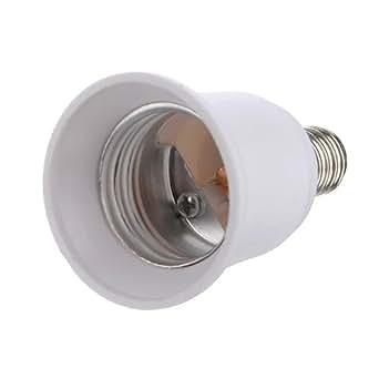 adaptateurs douille e27 e14 led lumiere ampoule culot convertisseur luminaires et. Black Bedroom Furniture Sets. Home Design Ideas