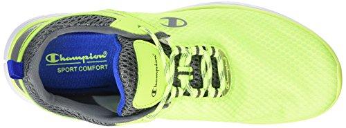 Champion - Low Cut Shoe Gogo, Scarpe da corsa Uomo Giallo (Gelb (Yellow FLuo 3239))