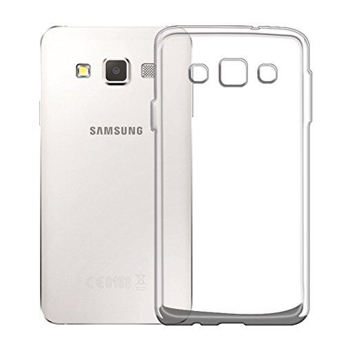 Minto Ultradünn TPU Hülle iPhone 8 Plus / iPhone 7 Plus Silikon Schutzhülle Handyhülle Case Crystal Cover Durchsichtig transparent 0.6mm Galaxy A3 (2015)