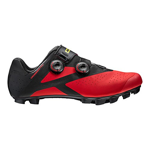 Mavic SHOES Crossmax Pro BLACK/FIERY RED/BLACK Nero