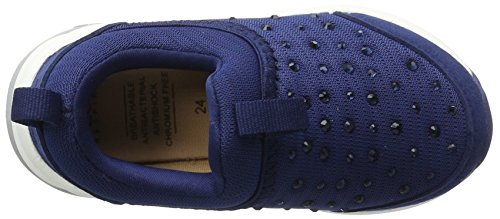 Geox J Hideaki C, Sneakers Basses Fille Bleu (Navyc4002)