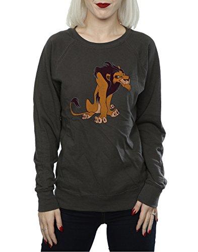 Disney Femme Classic Scar Sweat-Shirt Graphite Lumière