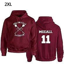8226a36f8843 iBaste top Maglione con Cappuccio Beacon Hills Lacrosse Felpa con Cappuccio  Teen Wolf McCall Stilinski Lahey Felpa