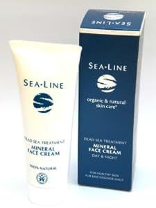 Sealine Crème hydratante minérale au sel de la mer Morte 75ml