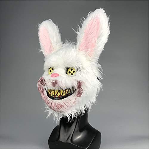Fun Holi-day Supplies Halloween Spielzeug Maske Seltsam Blutiges Kaninchen Dämon Cosplay Spukhaus Unfug Maskerade