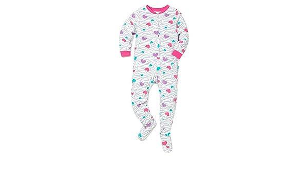 2er-Pack Simple Joys by Carters Baby M/ädchen Schlaf und Spielanzug aus Fleece mit F/ü/ßen