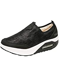 6634afe89 ALIKEEY Plataforma De Mujer De Moda Slip On para Los Zapatos De Las Señoras  Mocasines Planos