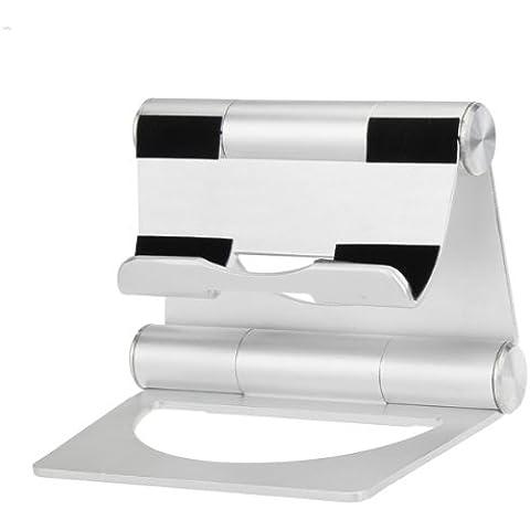 Plegable universal pivote de aluminio del soporte para el iPad 2 3 4 Mini.