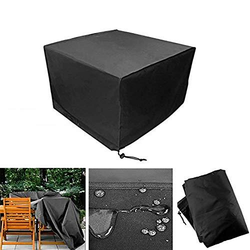 Mjy copertura impermeabile antipolvere per mobili, rivestimento protettivo impermeabile in tessuto oxford per tavolo e sedie da esterno,325 * 208 * 58 centimetri
