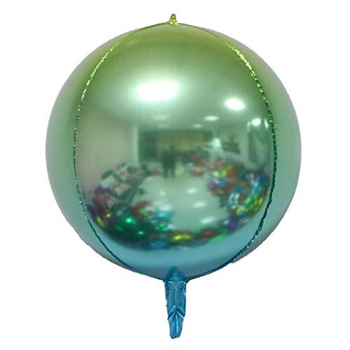 De 16 Pulgadas Espesar 3D Globos,Redonda Gradiente Globos de Fiesta Fiesta de cumpleaños de Boda Suministros de Fiesta Festival de año Nuevo(1 pc)-A