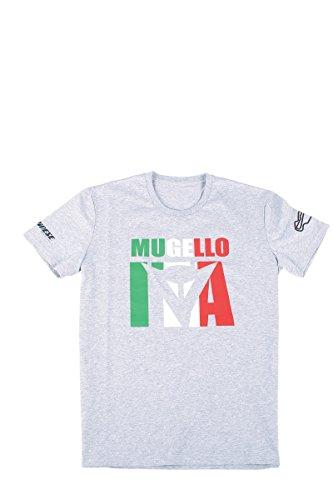 Dainese MUGELLO D1 T-shirt, MelangeGrau, Größe S